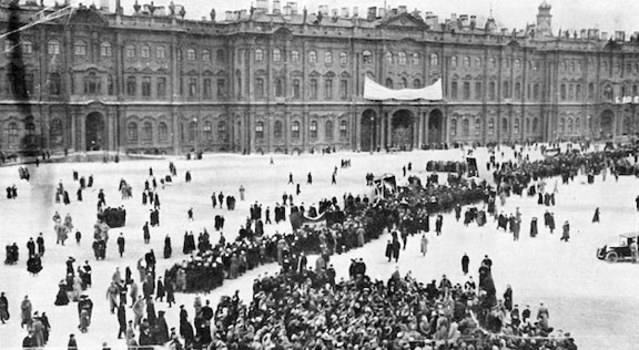 Winter Palace protest