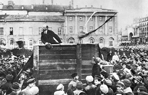 Lenin in Feb revolution