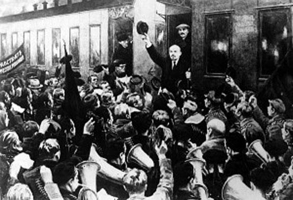 Lenin at Finland Station