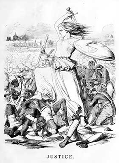 Barbaric retribution