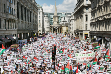 Protest-against-Gaza-bombing