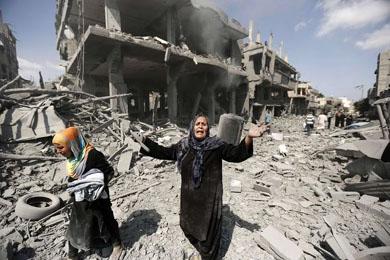 Israeli-bombing