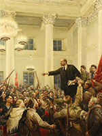 October revolution victorious