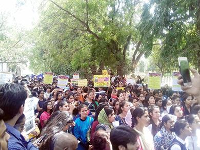 DUTA and JNU Protest