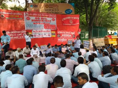 AILRSA 38 hour hunger strike