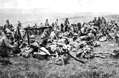 Casualities in WW