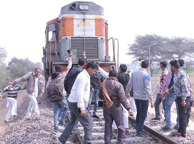 Rail Roko agitation