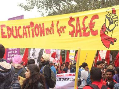 Young India Adhikar Rally Feb 2019