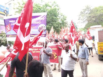 May Day in Chennai