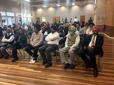 Exhibition at Sikh sports, Melbourne
