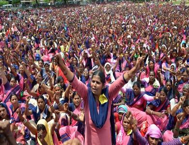 Anganwadi maha panchayat on 31 August 2019