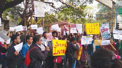 Protest against Citizenship Amendment