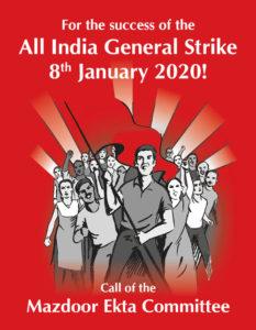 8 Jan General Strike