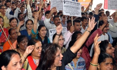 Mumbai bank employees