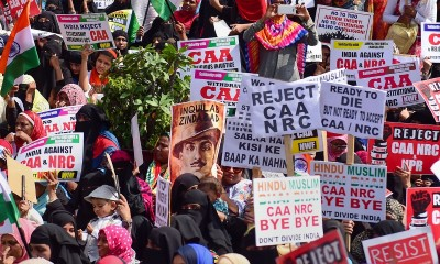 Country-wide protests against CAA