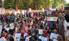 Against delhi violence