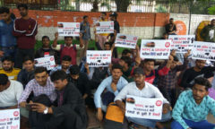 Applicants for railways jobs