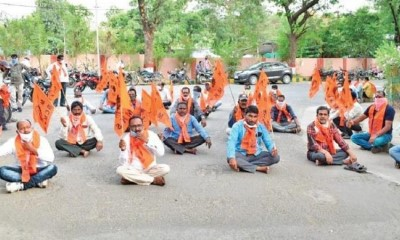 20 May Singareni Coal Mines Karmika Sangh oppose Privatisation of mines