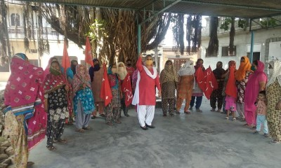 Punjab Aanganwadi Workers demand regularisation