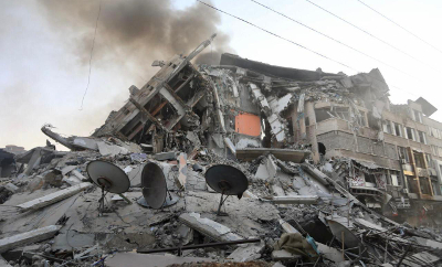 residential apartment in Gaza