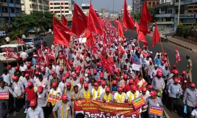VIzag_Steel_Plant_workers_demonstration