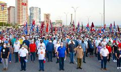 Mass_Rally_Defence_Revolution_Cuba_Havana _17_July_2021