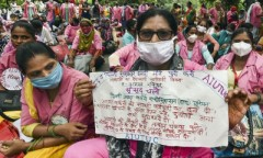 ASHA_protest_New_Delhi