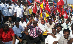 Tamilnadu_workers_protest